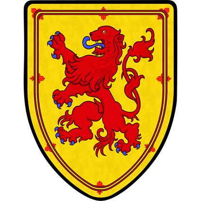 Scotland Lion Steel Battle Shield