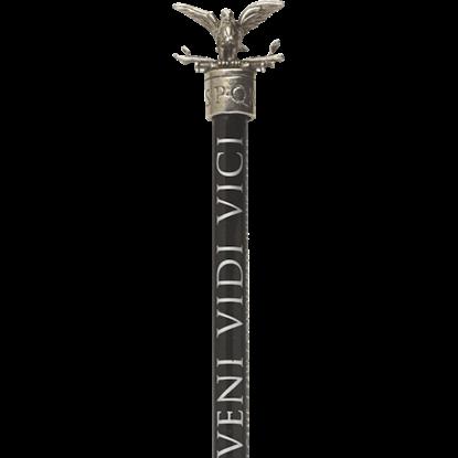 Pewter Roman Eagle Pencil Topper
