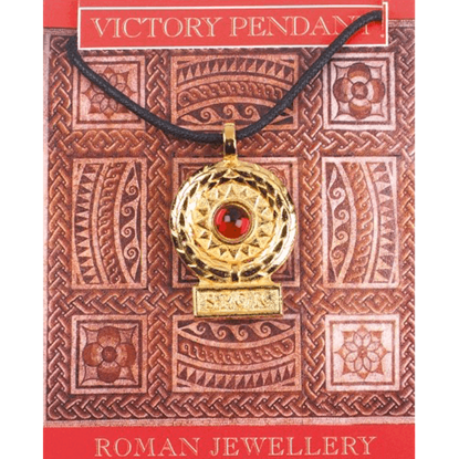 Gold Plated Victory Gem Necklace