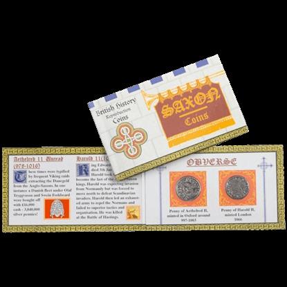 Saxon Replica Coin Pack