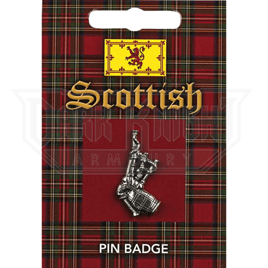 Scottish Bagpipes Pin Badge