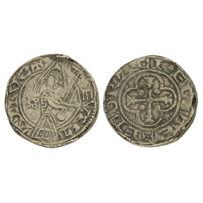 Eustace Fitzjohn Penny Replica Coins