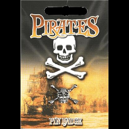 Skull And Crossbones Pin Badge
