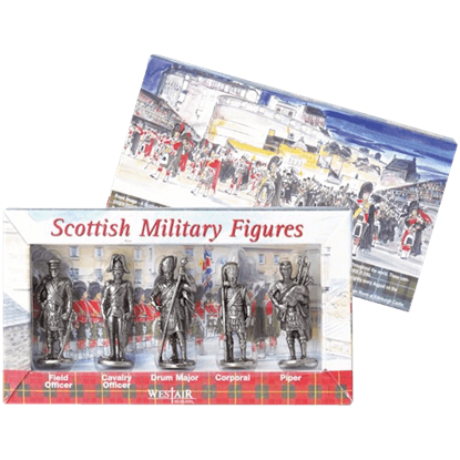 Set of Five Scottish Figures