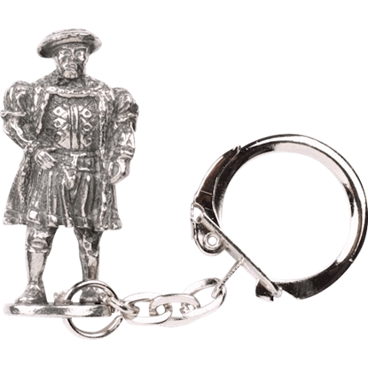Tudor Figure Key Ring