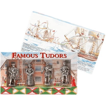Set Of Four Tudor Figures