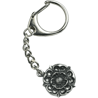 Tudor Rose Key Ring
