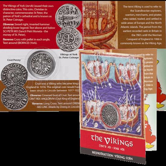 Viking Cnut Penny Replica Coin Pack