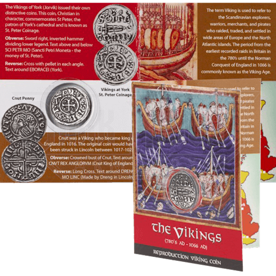 Viking St Peter Coinage Replica Coin Pack