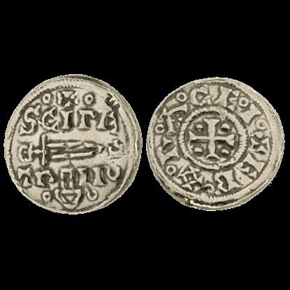 Vikings At York Silver Penny Replica Coins