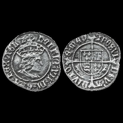 Henry VII Halfgroat Replica Coins