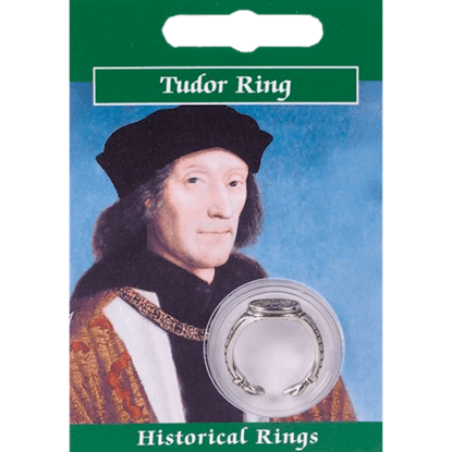 Pewter Henry VII Signet Ring