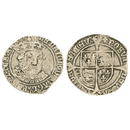 Henry VIII Groat Replica Coins