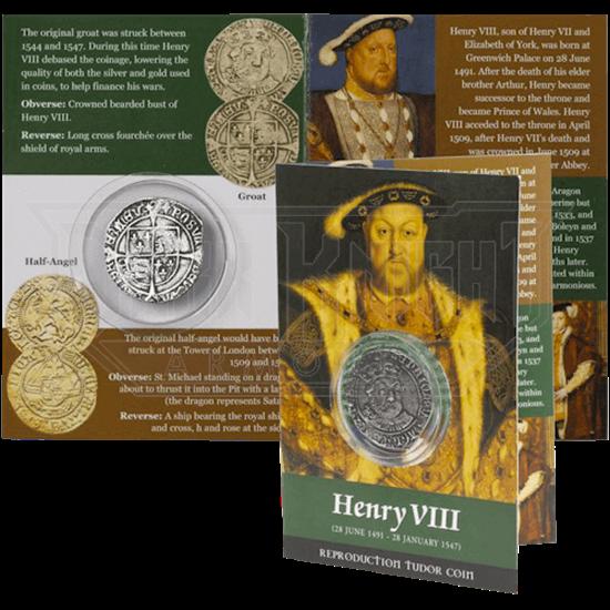 Henry VIII Groat Replica Coin Pack