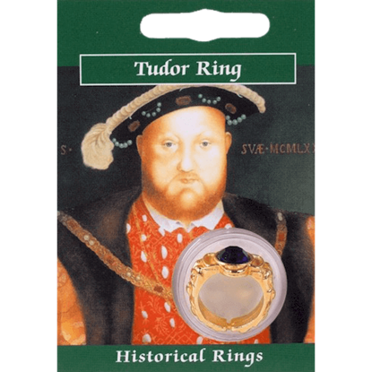 Gold Plated Henry VIII Gem Ring