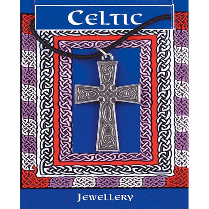 Interlaced Celtic Cross Necklace