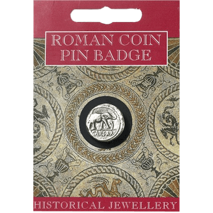 Caesar Coin Pin Badge