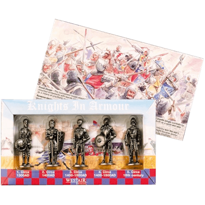 Set Of Five Knights