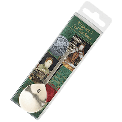 Elizabeth I Seal Top Spoon