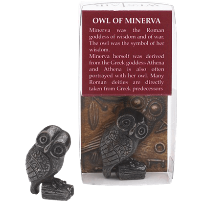 Mini Owl Of Minerva