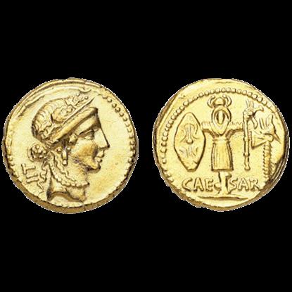 Aureus Of Caesar Replica Coins