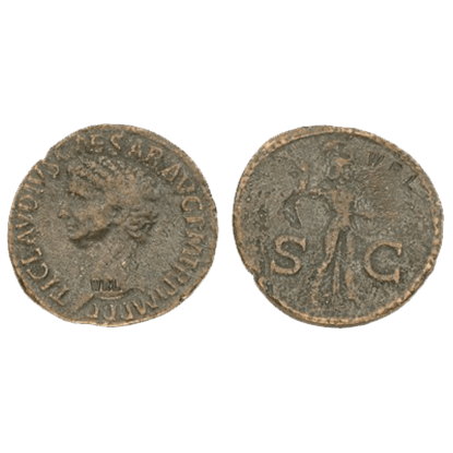 As Of Claudius Replica Coins