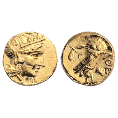 Athens Gold Stater Replica Coins
