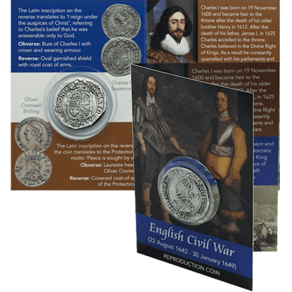 Charles I Civil War Coin Pack