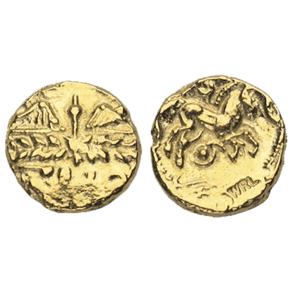 Gold Stater Of The Catuvellauni Replica Coins