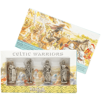 Set Of 4 Celtic Warriors