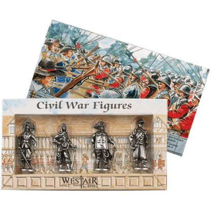 English Civil War Figurine Set