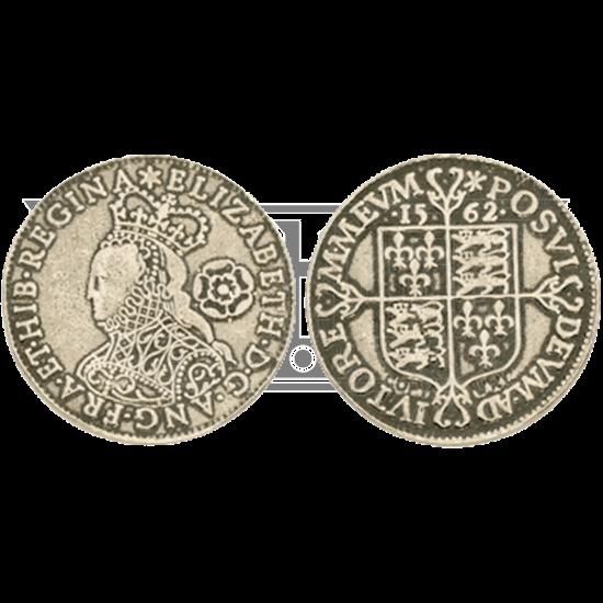 Elizabeth I Sixpence Replica Coins