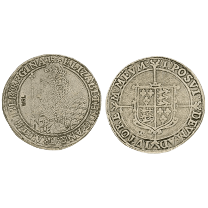 Elizabeth I Crown Replica Coins