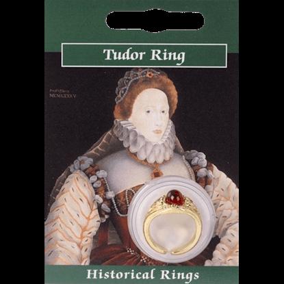 Gold Plated Elizabeth I Gem Ring