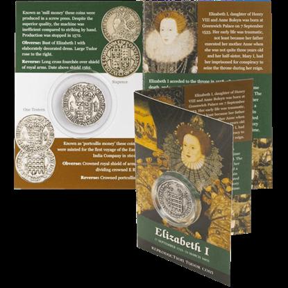 Testern Elizabeth I Replica Coin Pack