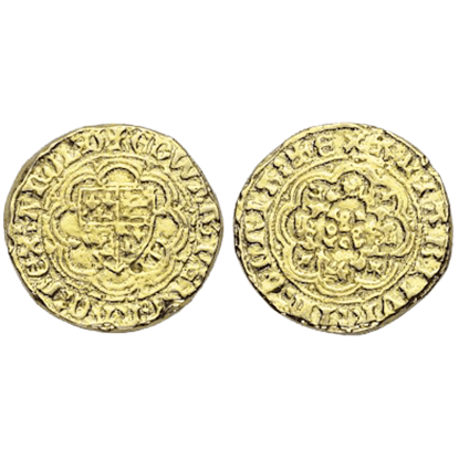 Edward III Quarter Noble Replica Coins