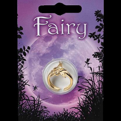 Golden Fairy Princess Ring