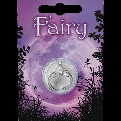 Pewter Fairy Princess Ring