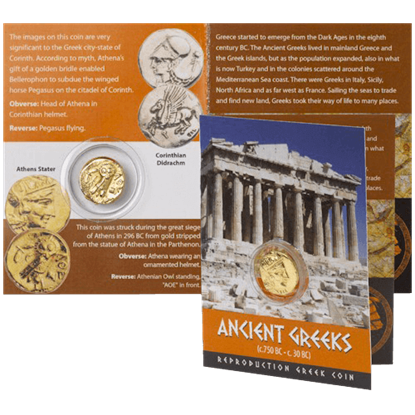 Athens Greek Replica Coin Pack
