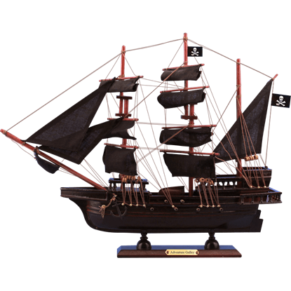 Captain Kidds Adventure Galley Model Ship