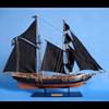 Black Prince Model Ship