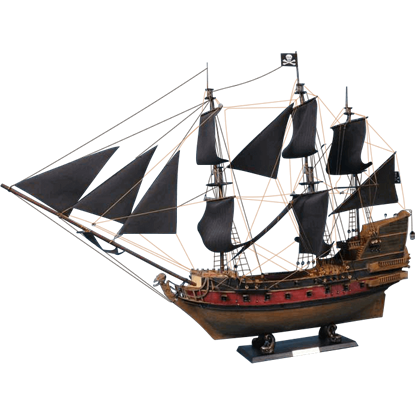 Captain Kidds Black Falcon Model Ship