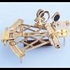 Admirals Brass Sextant