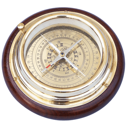 Brass Directional Desktop Compass