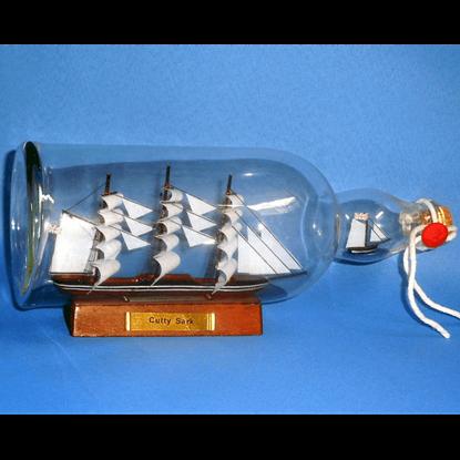 Cutty Sark Ship in a Bottle