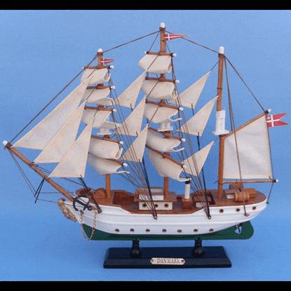 14 Inch Danmark Model Ship