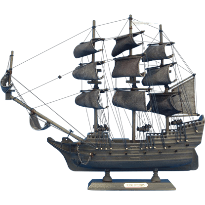 14-Inch Flying Dutchman Model Ship