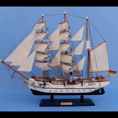 20 Inch Gorch Fock Model Ship