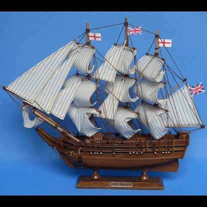 Darwins HMS Beagle Model Ship