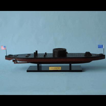 USS Monitor Model Ship